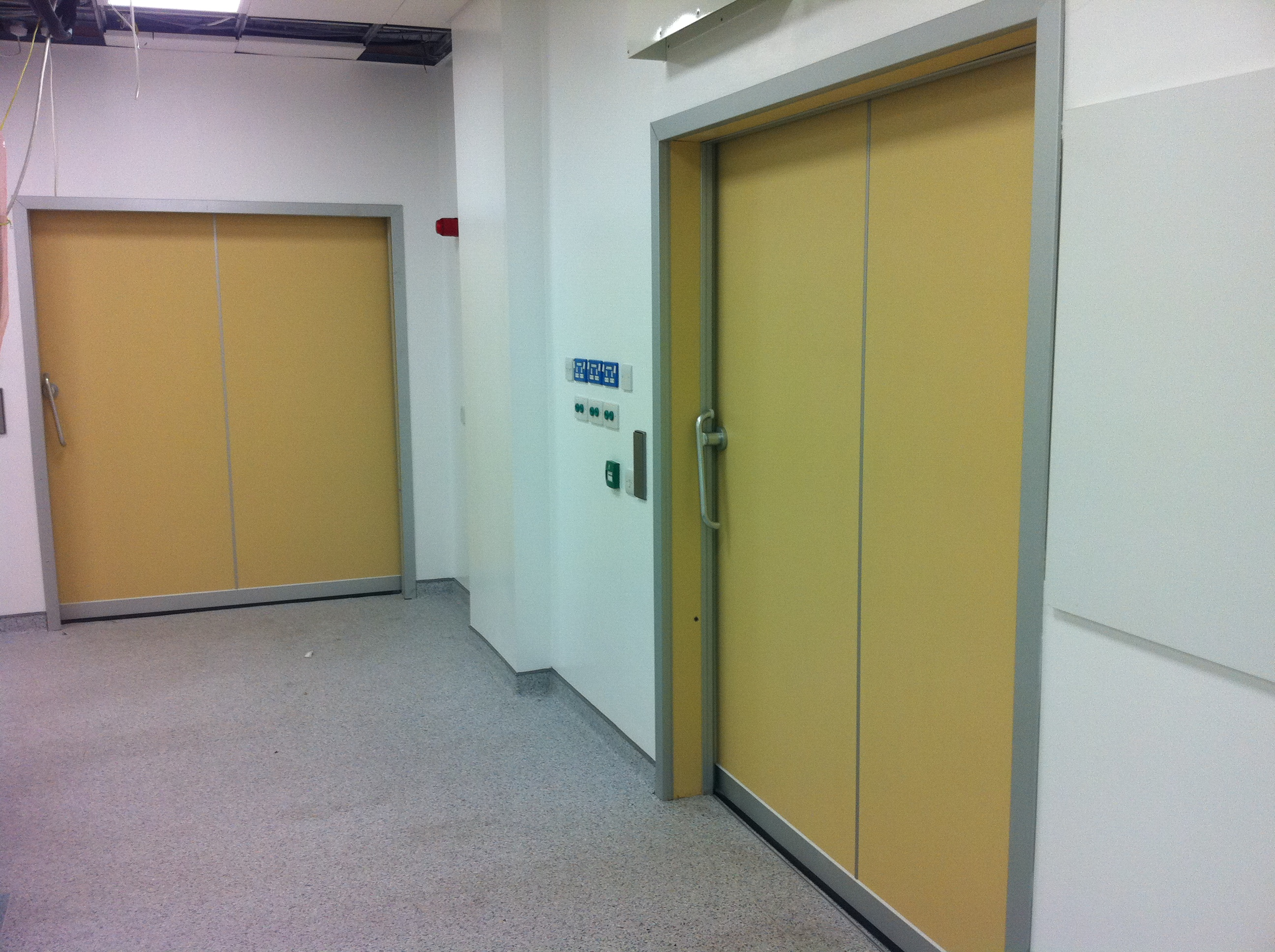 Hermetic Doors Cath Lab Dublin