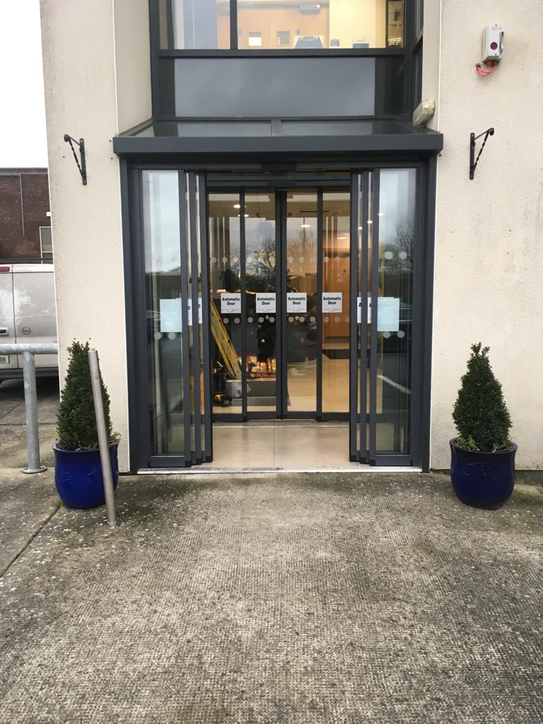 Telescopic Doors Glanbia