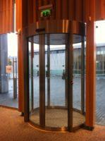 circle slide doors